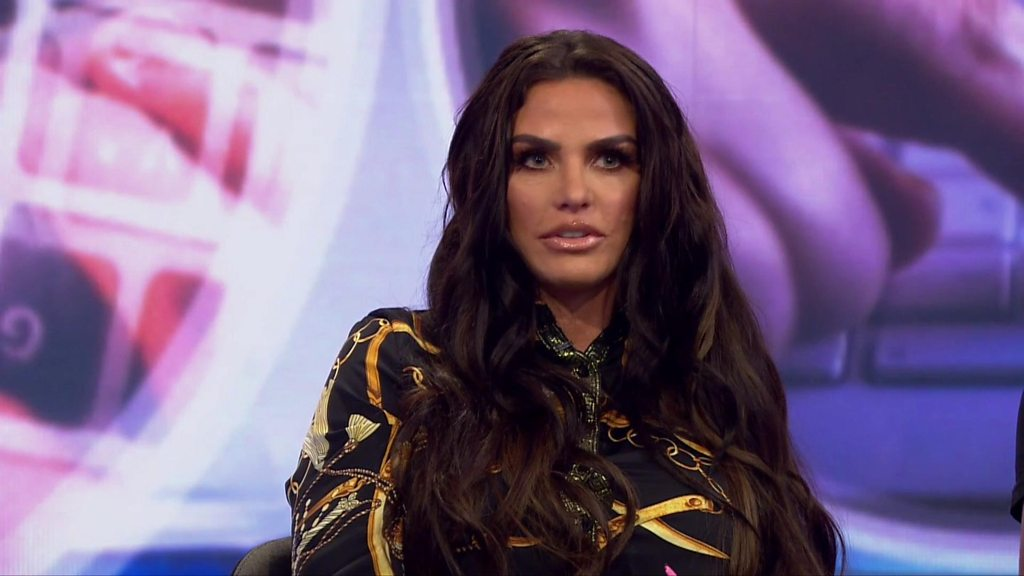 Katie Price: 'I'm trying to get on with my life'