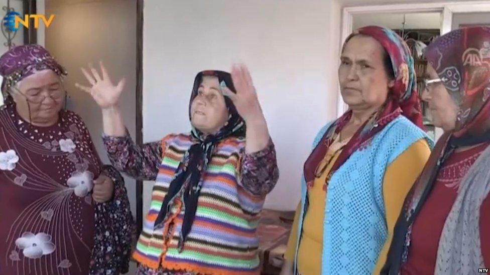 proba turske ženske amaterske pozorišne trupe