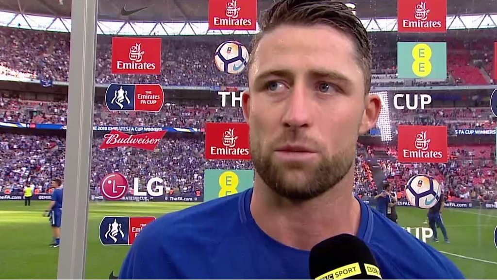 FA Cup Final - Chelsea 1-0 Manchester United: FA Cup win 'saved our season' - Gary Cahill