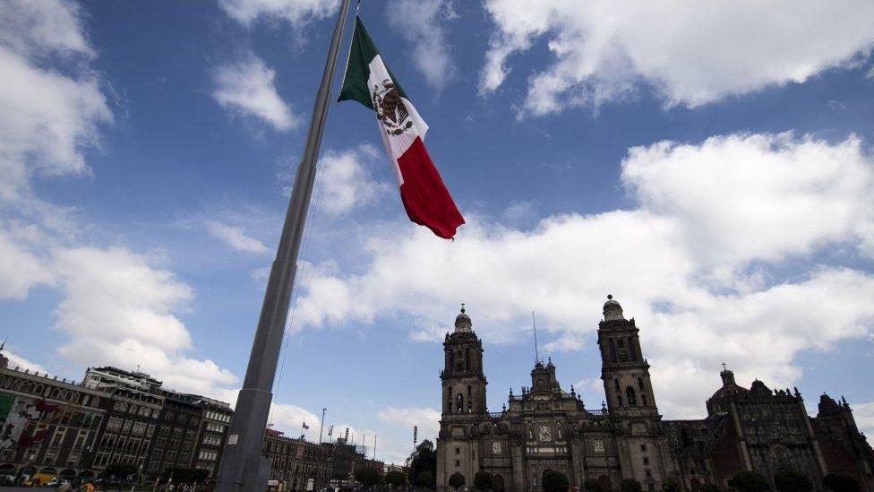 Zócalo en Ciudad de México.