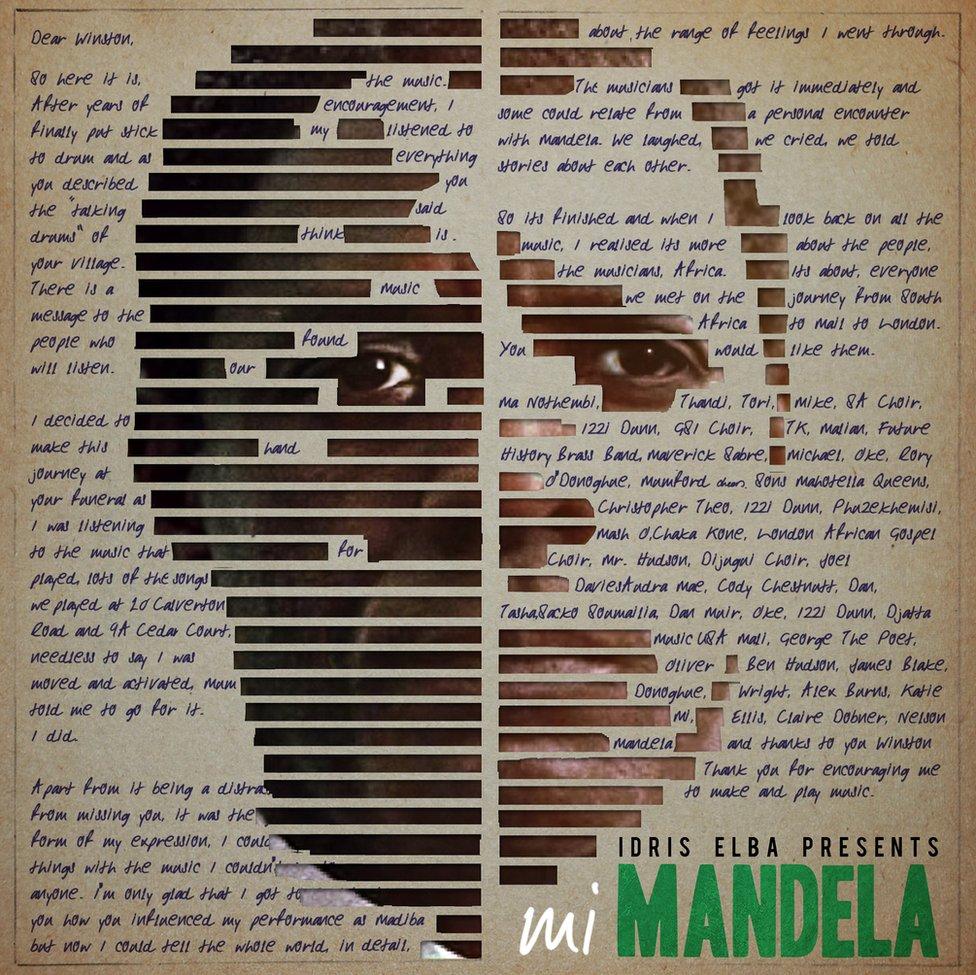 Mi Mandela album cover