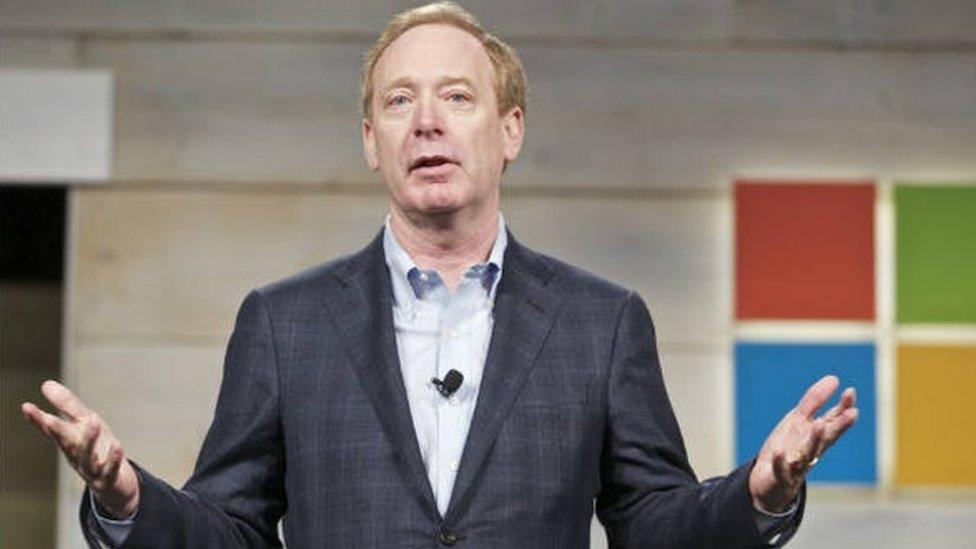 Brad Smith, Microsoft President