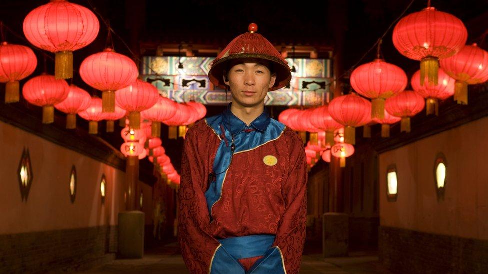 Restaurante chino en 2008.