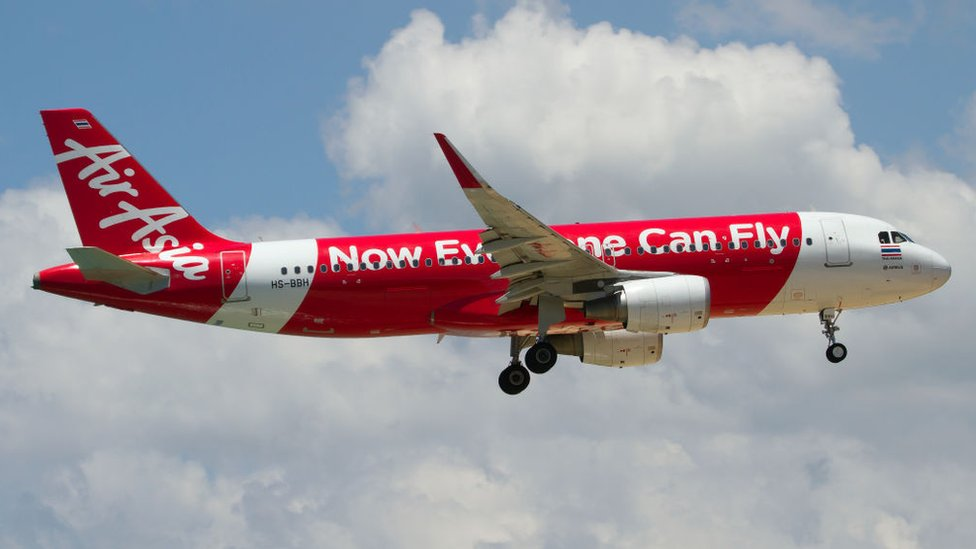 Avión de AirAsia