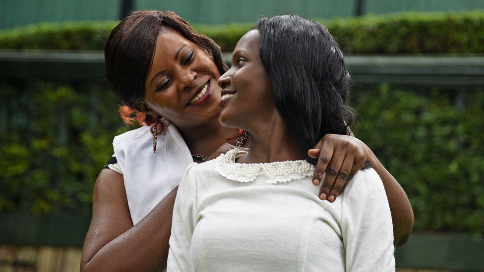 Susan Kigula y su hija