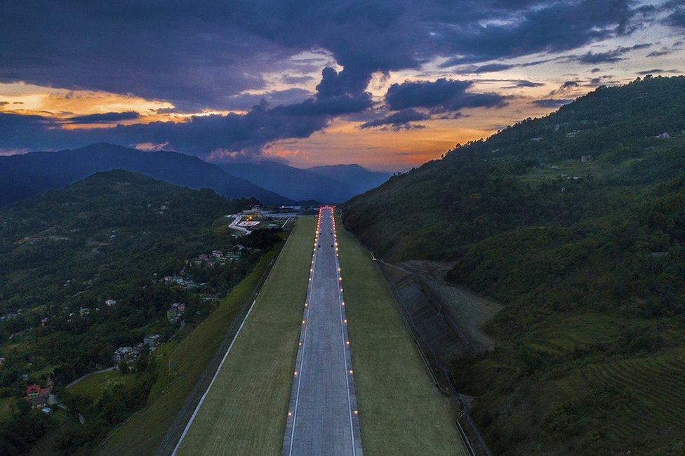 Sikkim airport