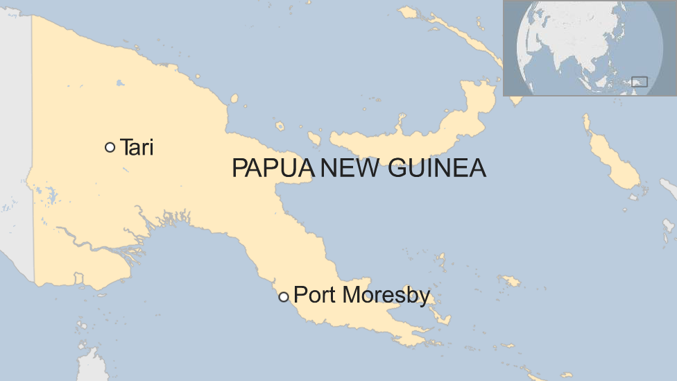 Map of PNG