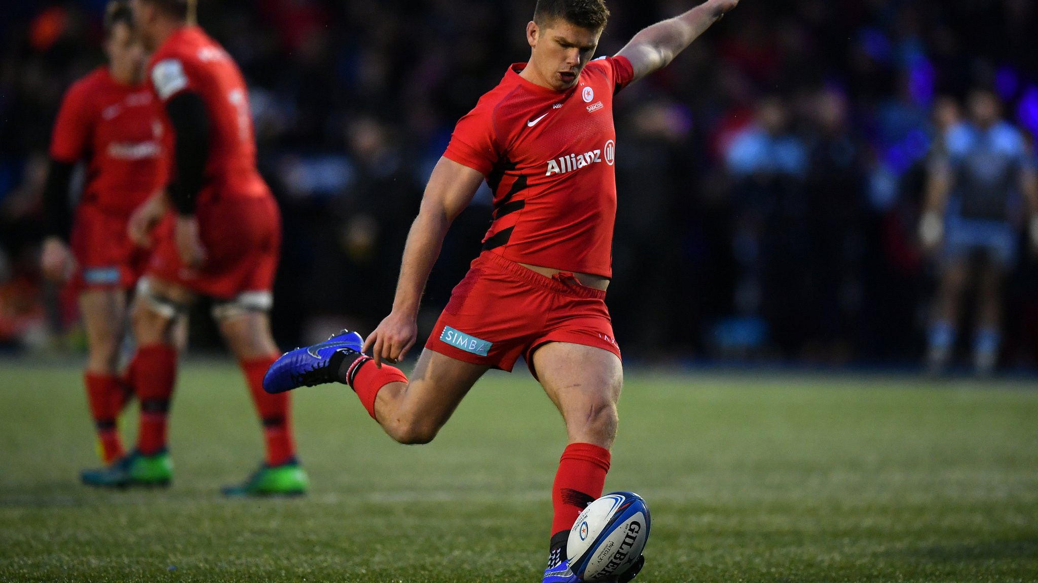 European Rugby Champions Cup: Cardiff Blues 14-26 Saracens