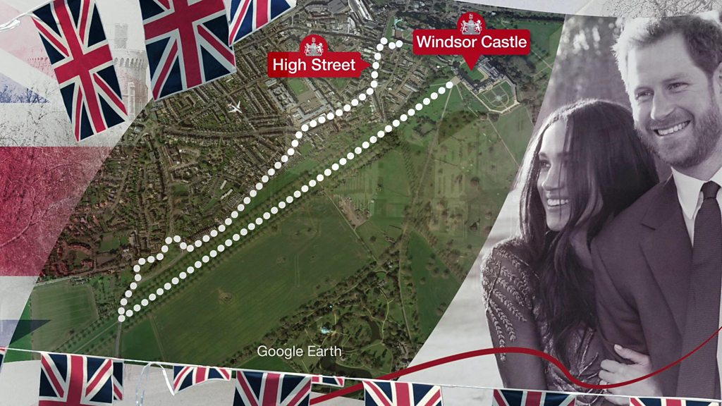 Royal wedding procession route: Where are the best locations?