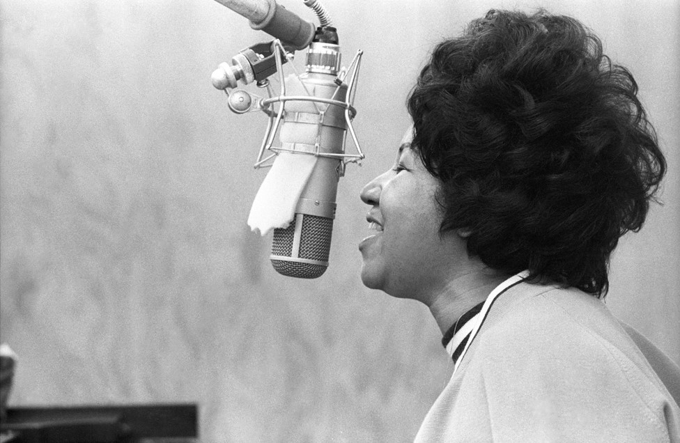 At a recording session in New York in 1969