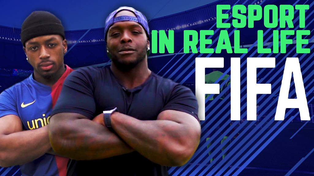 Can pro Fifa player Fully score against Adebayo Akinfenwa in real life?