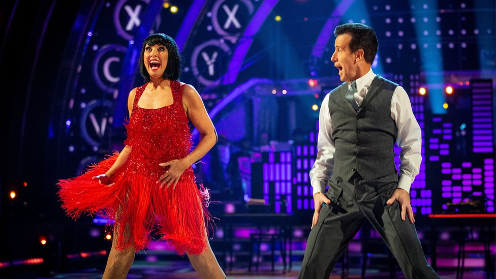 Emma Barton and Anton Du Beke