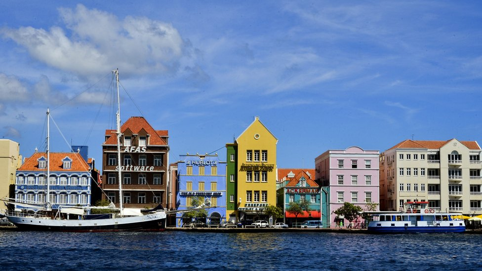 Quayside in Willemstad