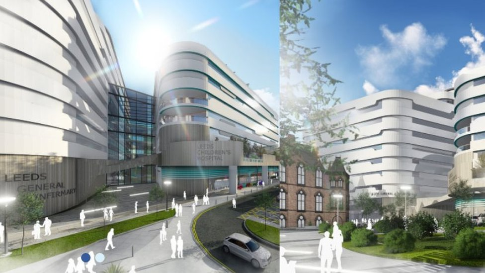 How the proposed redevelopment at Leeds General Infirmary might look