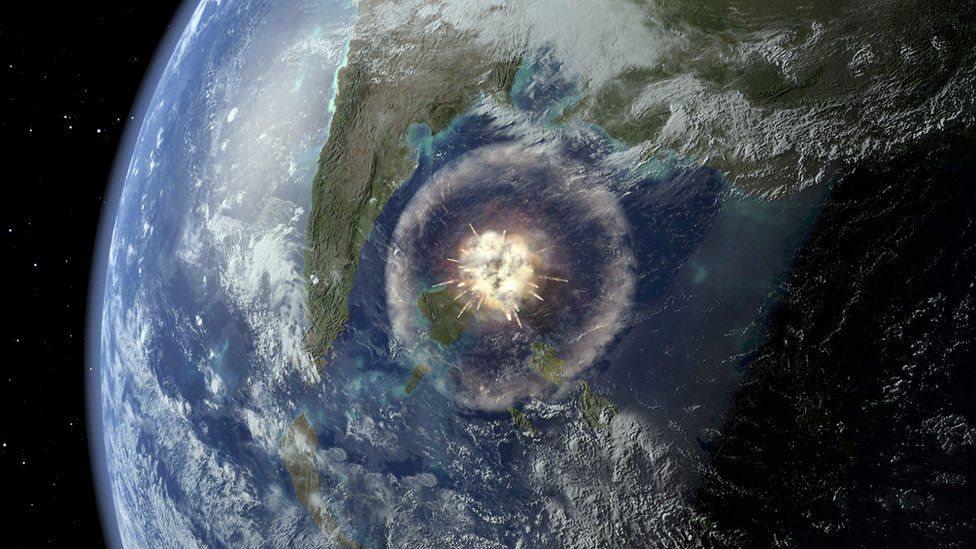 удар метеориту
