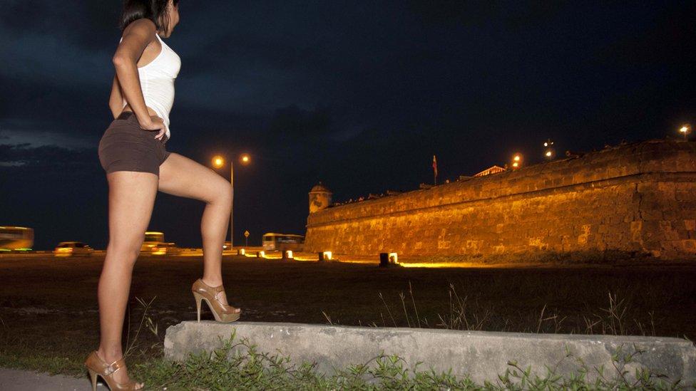 Prostituta en Cartagena