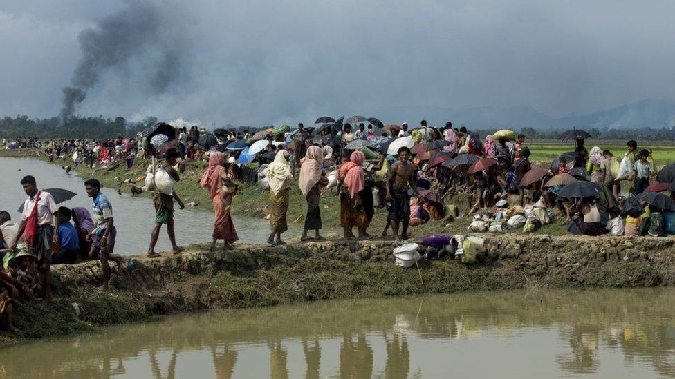 Musulmanes rohingya