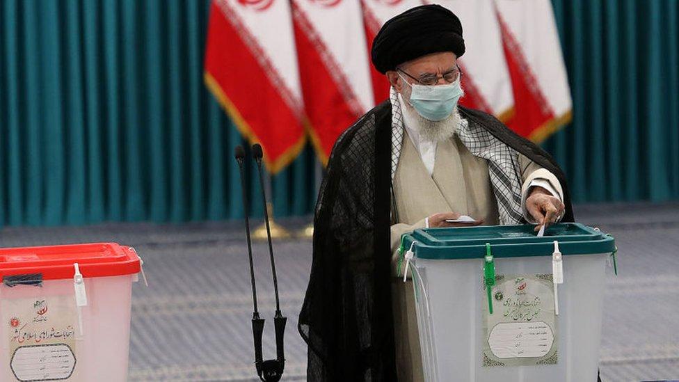 El líder supremo de Irán, el ayatolá Alí Jamenei.