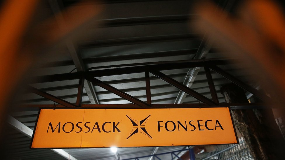 Mossack Fonseca sign in Panama City