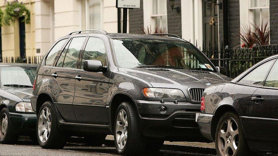 SUV en Londres
