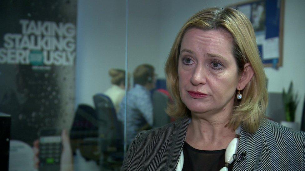 Home secretary, Amber Rudd