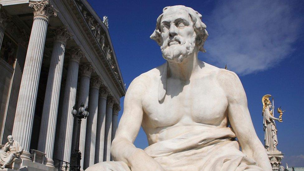 Tucídides vivió hace más de 2.400 años. Así que... ¿qué tiene que decir sobre las relaciones entre China y Estados Unidos?