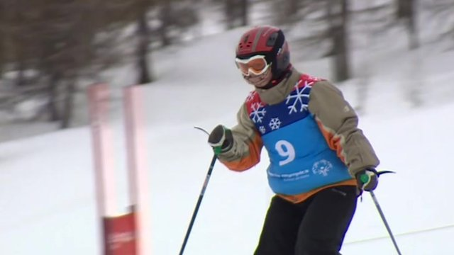 Special Olympics GB skier Alison Tully