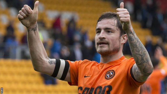 Interview: Dundee United captain Paul Paton