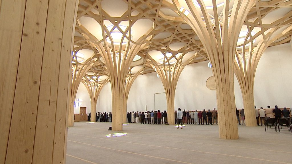 Inside Cambridge's £23m 'eco-mosque'