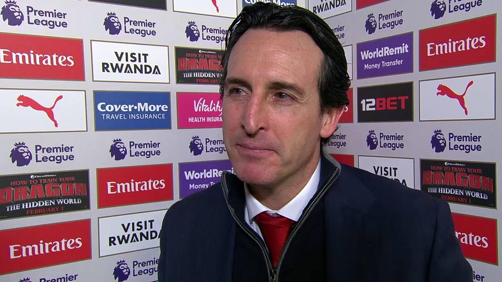 Arsenal 2-0 Chelsea: Emery says win was important for Gunners fans