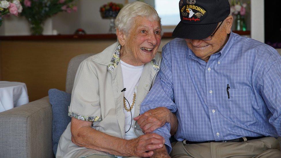 Norwood Thomas and Joyce Morris