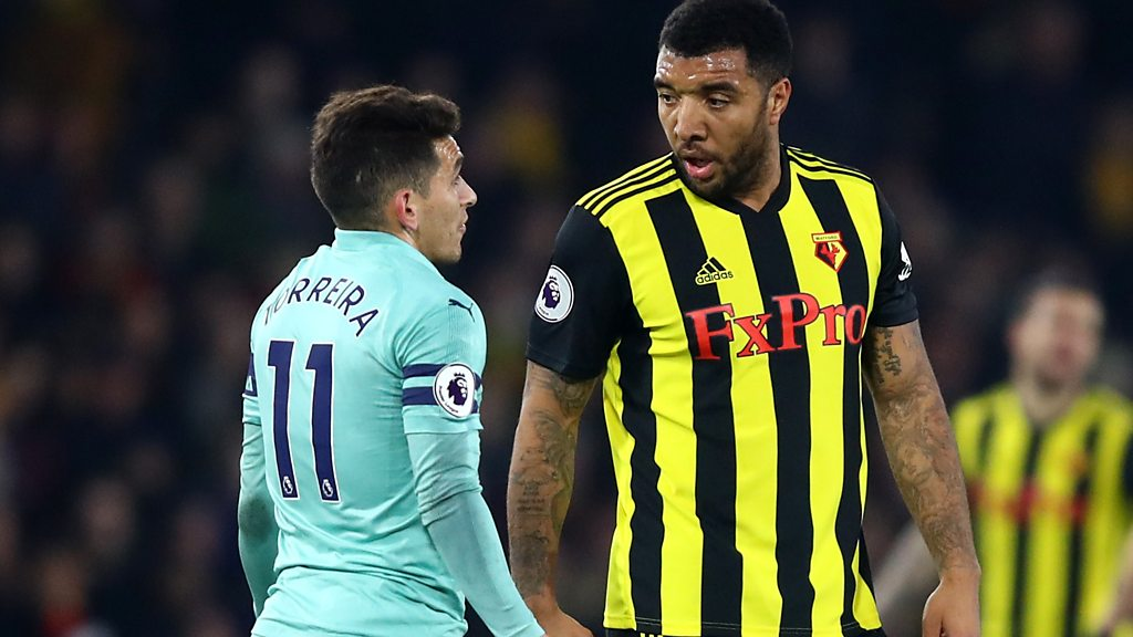 Watford 0-1 Arsenal: Troy Deeney did not deserve red card - Javi Gracia
