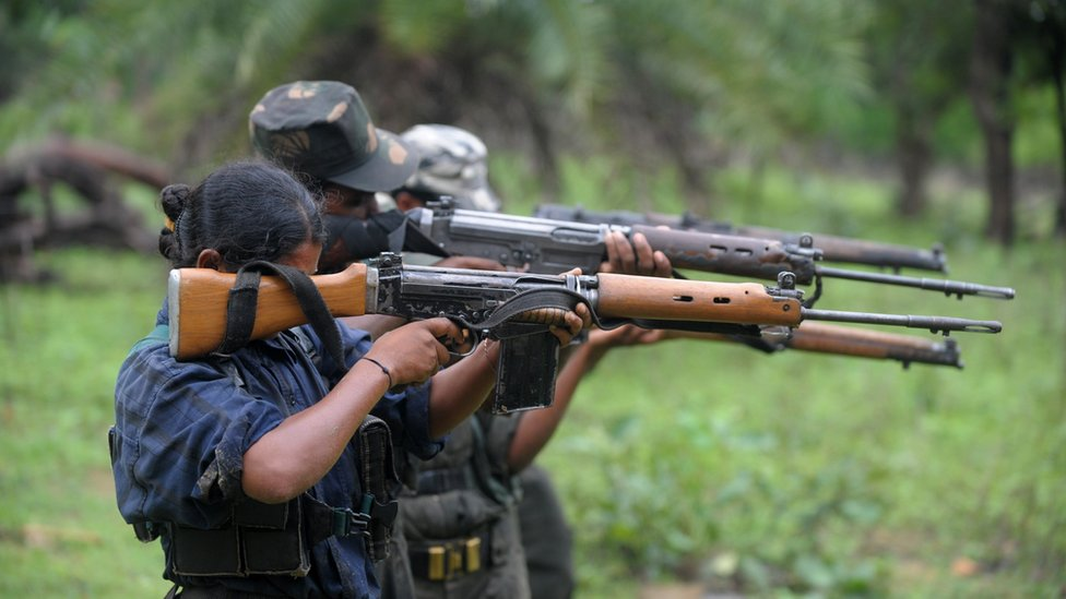 The rebels are active in several eastern and central states of India.