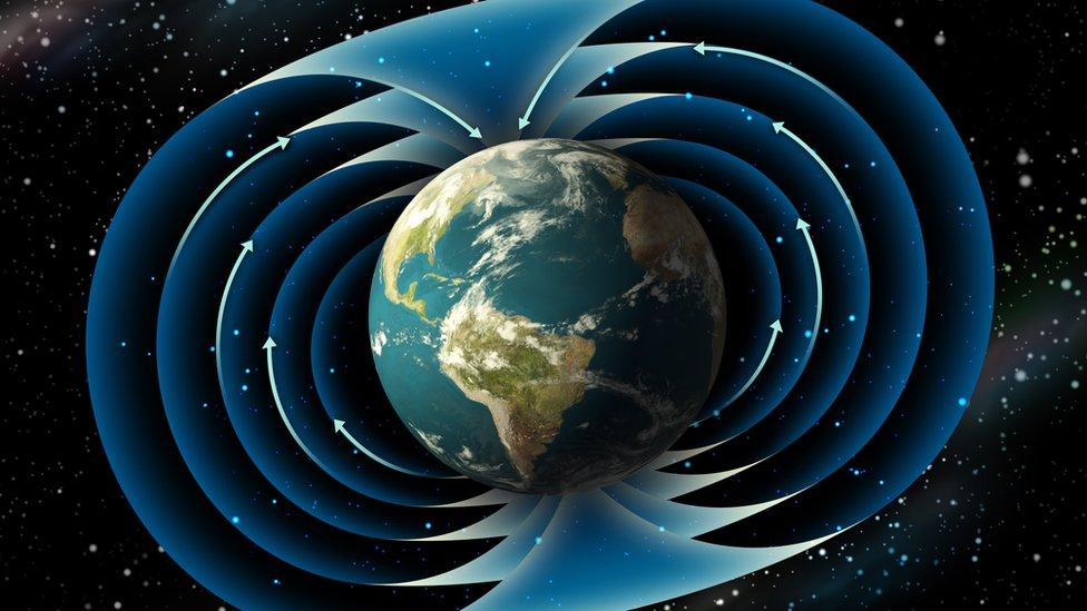 Inversión de los polos magnéticos
