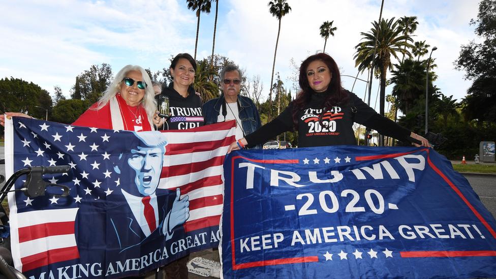 Seguidoras de Trump