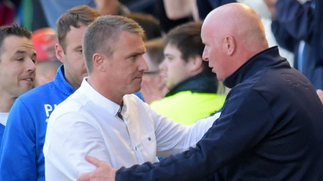 Lee Clark and Peter Houston