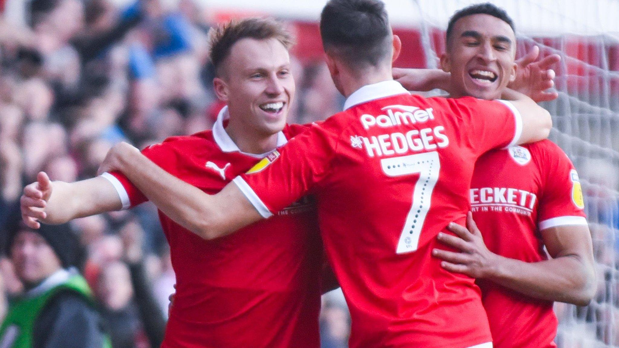 Barnsley 2-1 Wycombe Wanderers