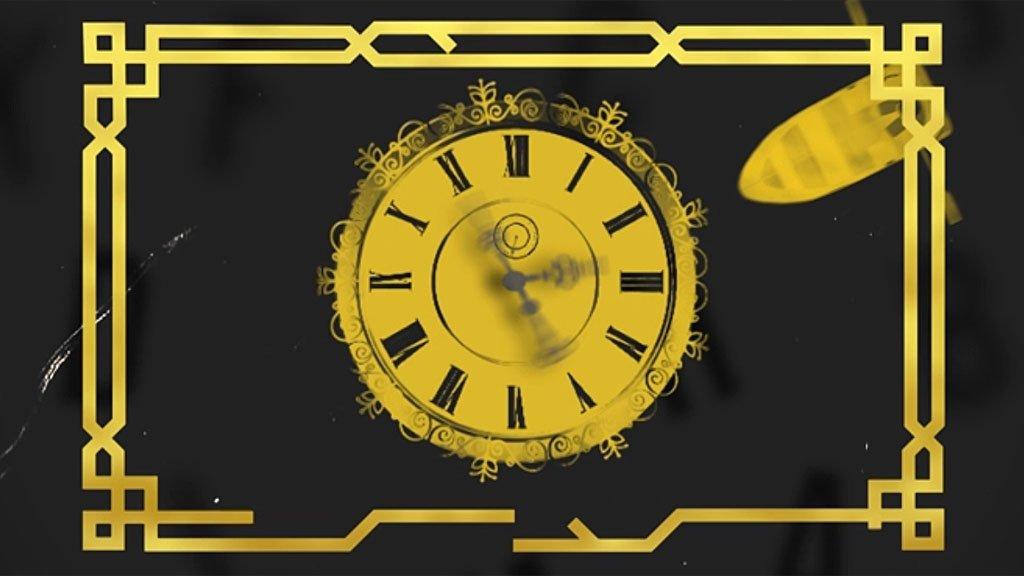Reloj y bote