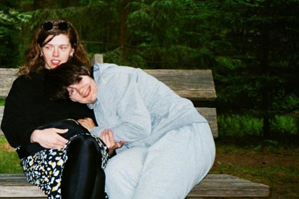 Arina and Nina at a Life Route camp