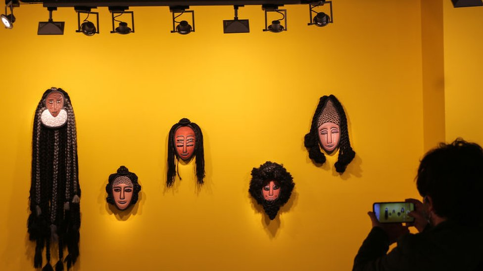 Exhibition of masks