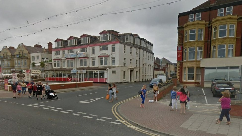 Teenager charged after boy, 13, stabbed near Blackpool beach