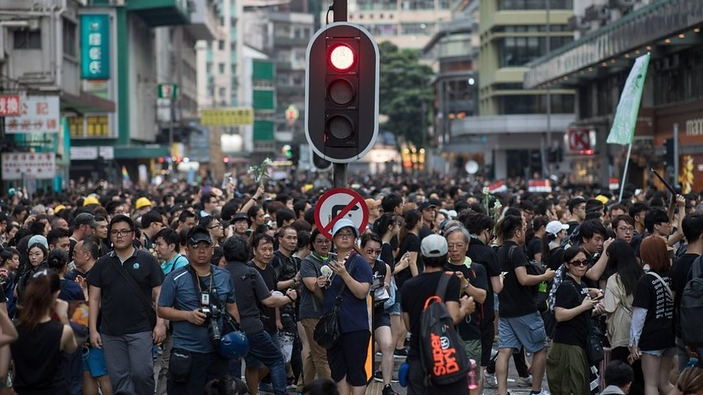 Protests return to Hong Kong streets