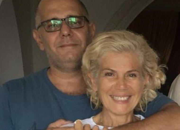 Pascal Torbey y su esposa, en tiempos mejores.