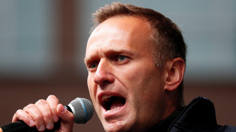 Muhalefetin önde gelen isimlerinden Aleksey Navalny