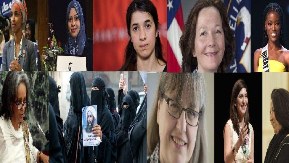 نساء تصدرت أسماؤهن وسائل الإعلام العربية والغربية خلال عام 2018