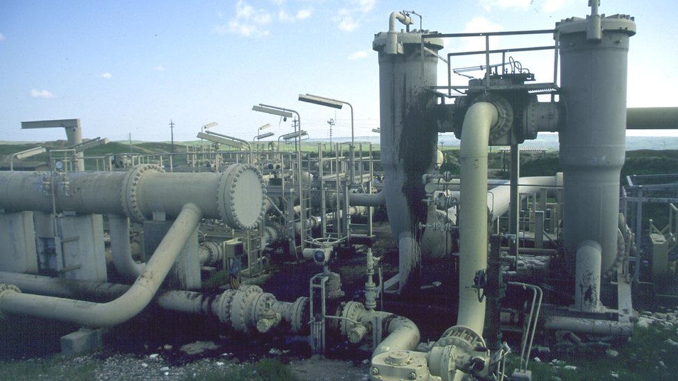Oil pipelines in Iraqi Kurdistan