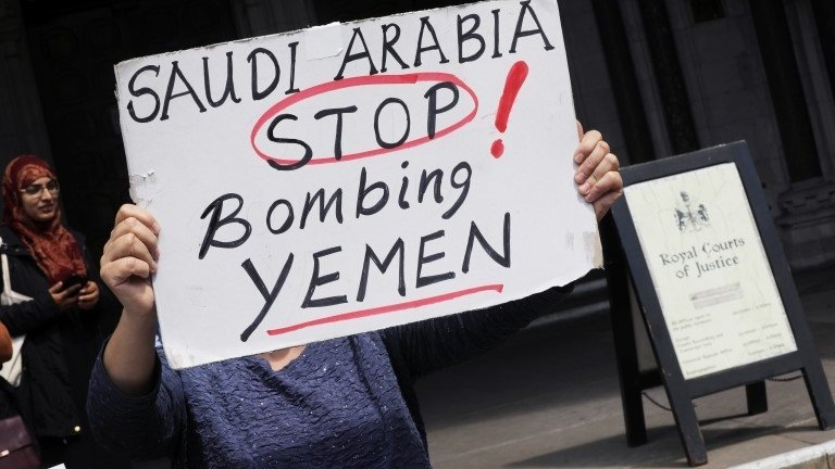 UK arms sales to Saudi Arabia unlawful, court rules