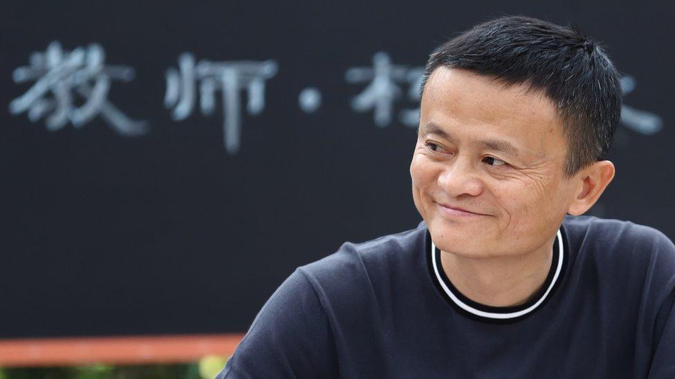 El fundador de Alibaba, Jack Ma, es uno de los hombres más ricos de China.