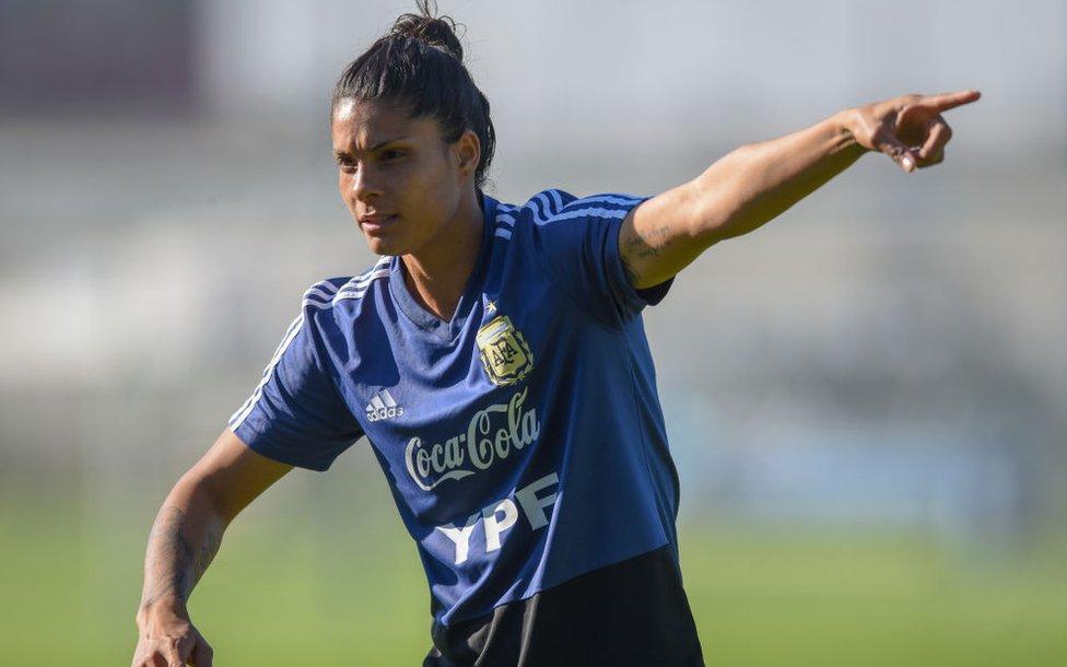 Soledad Jaimes delantera argentina