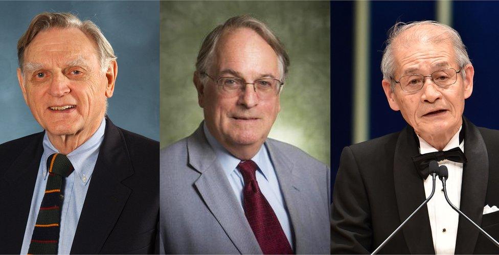 Nobel chemistry winners